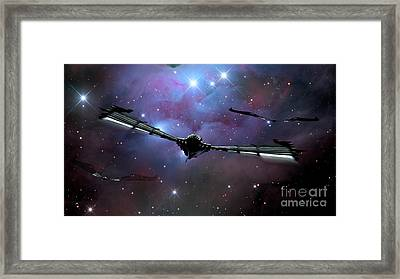 Xeelee Nightfighters, Inspired Framed Print by Rhys Taylor