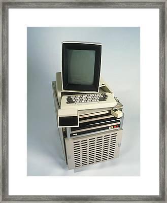 Xerox Alto Computer Framed Print