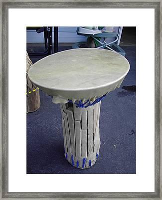 Xylophone Hand Drum Framed Print by Hunter Quarterman