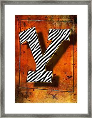 Y Framed Print by Mauro Celotti