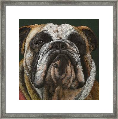 Ya Wanna Piece A Me Framed Print by Norm Holmberg