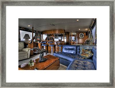 Yacht Cabin Framed Print by Al Hurley