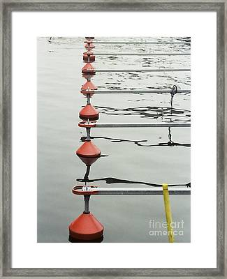 Framed Print featuring the photograph Yacht Quey by Agnieszka Kubica