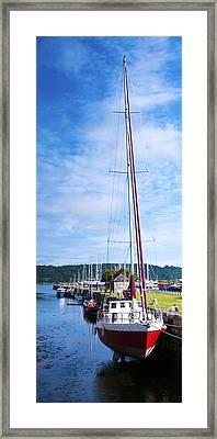 Yacht  Framed Print by Svetlana Sewell