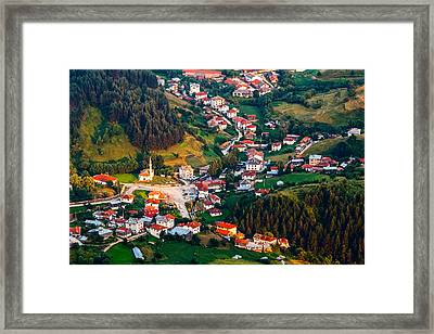 Yagodina Village Framed Print by Evgeni Dinev
