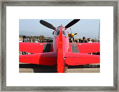 Yak 9u Airplane . 7d15802 Framed Print by Wingsdomain Art and Photography