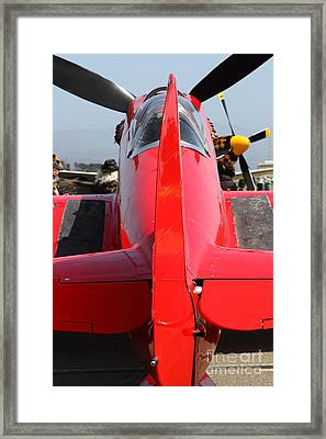 Yak 9u Airplane . 7d15803 Framed Print by Wingsdomain Art and Photography