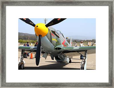 Yak 9u Airplane . 7d15807 Framed Print by Wingsdomain Art and Photography