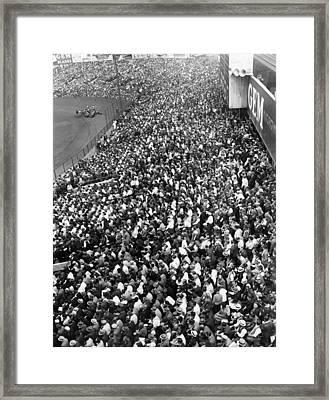Yankee Stadium Bleachers, New York Framed Print by Everett