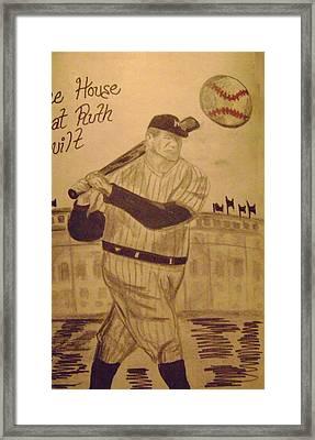 Yankees Framed Print by Paul Rapa