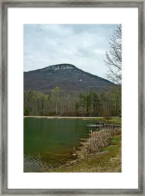 Yanoh Mountain 4 Framed Print
