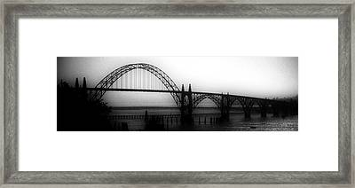 Yaquina Bay Framed Print