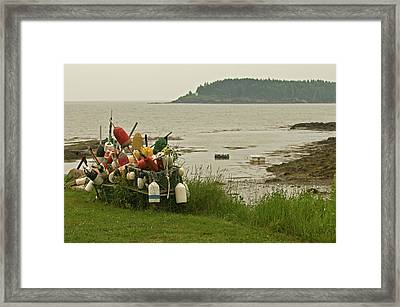 Yard Art Framed Print by Paul Mangold