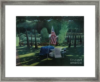 Yard Sale Framed Print by Stephen Remick