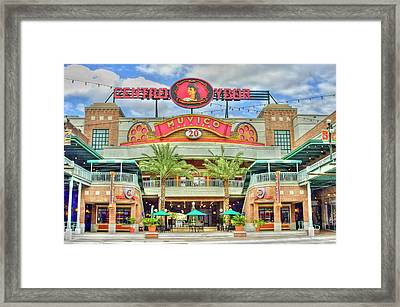 Ybor City Center Framed Print by Geraldine Alexander