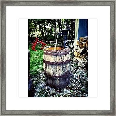 Ye Olde Water Pump Framed Print