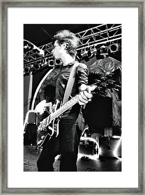 Yeah Yeah Yeahs Framed Print by Gary Smith