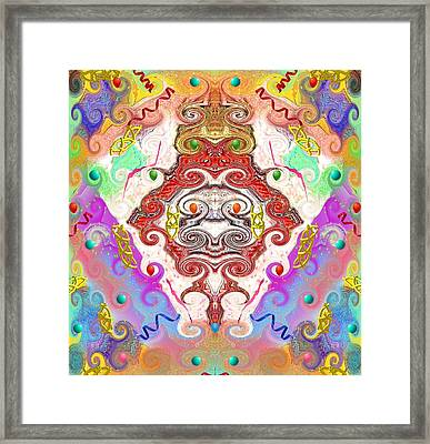 Year Of The Dragon Framed Print by Alec Drake