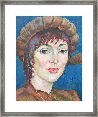 Yelena Ronina Framed Print