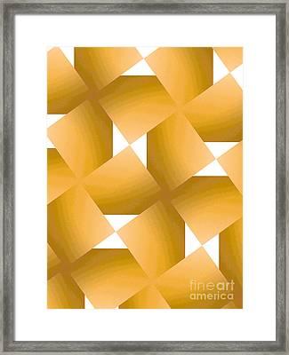 Yellow Fever Framed Print by J Burns