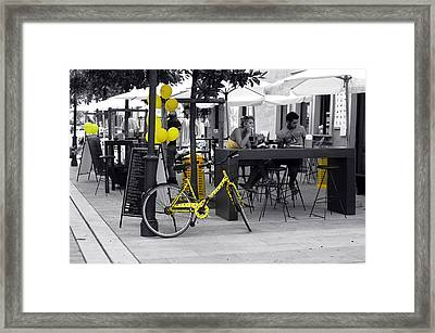 Yellow Framed Print by Graham Hawcroft pixsellpix