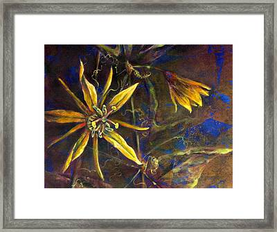 Yellow Passion Framed Print