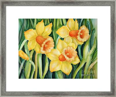 Yellow Pleasure Framed Print