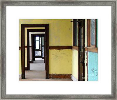 Yellow  Framed Print by Tammy Cantrell