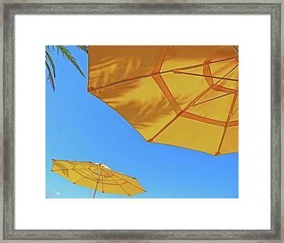 Framed Print featuring the photograph Yellow Time  by Lizi Beard-Ward