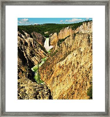 Yellowstone Grand Canyon Framed Print
