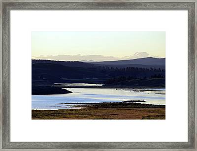 Yellowstone Landscapes Framed Print