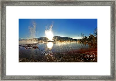 Yellowstone National Park - Minerva Terrace - 06 Framed Print by Gregory Dyer