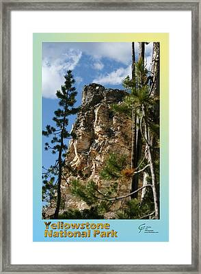 Yellowstone Np 001 Framed Print by Charles Fox