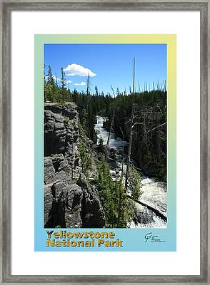 Yellowstone Np 002 Framed Print by Charles Fox