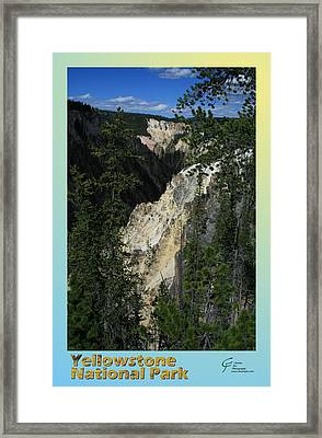 Yellowstone Np 004 Framed Print by Charles Fox