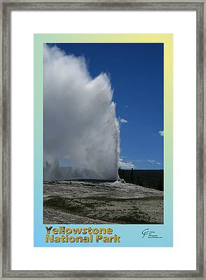 Yellowstone Np 005 Framed Print by Charles Fox