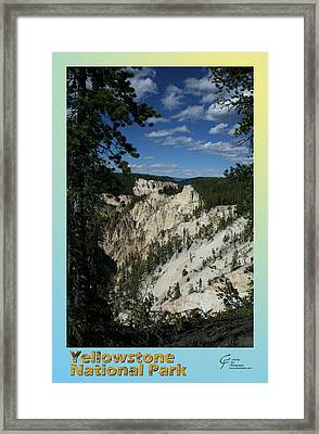 Yellowstone Np 007 Framed Print by Charles Fox