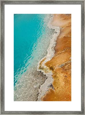 Yellowstone Thermal Pool 2 Framed Print