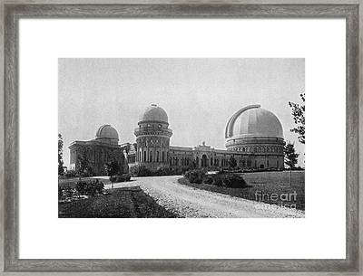 Yerkes Observatory, Wisconsin Framed Print by Science Source