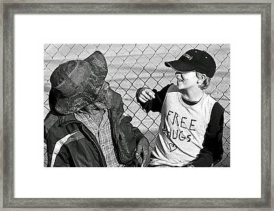 Yesterday - Tomorrow Framed Print