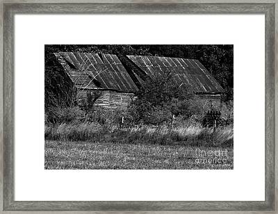 Yesterday's Barn Framed Print by Alan Look