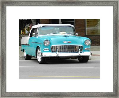 Yesteryears Chevy Framed Print by Dennis Leatherman