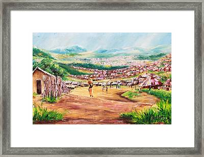 Yesteryears Framed Print by Uly Ogwah