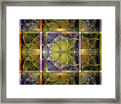 Yggdrasil Flower Framed Print by Drake Lock