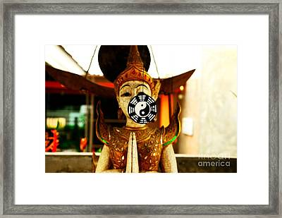 Yin And Yang Framed Print by Dean Harte