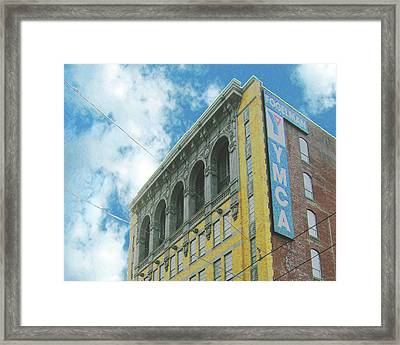 Framed Print featuring the photograph Ymca by Lizi Beard-Ward