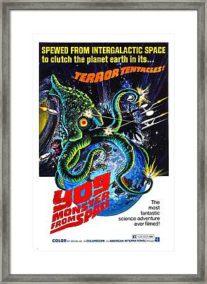 Yog Monster From Space, 1970 Framed Print