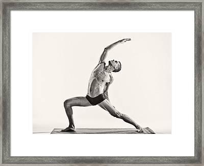 Yoga Framed Print by Angelique Olin