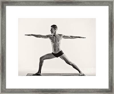 Yoga II Framed Print by Angelique Olin