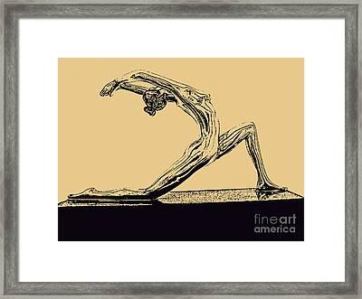 Yoga Number One Framed Print